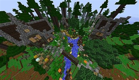 lost in the woods minecraft project
