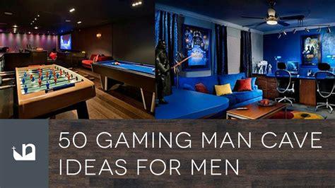 gaming man cave ideas  men youtube