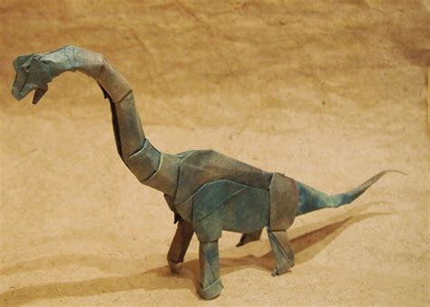Origami Brachiosaurus - this week in origami july 17 2015 edition