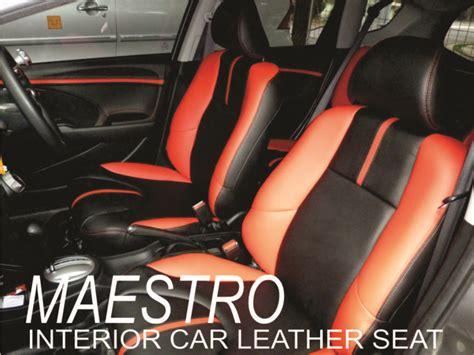 Sarung Jok Dan Karpet Mobil tilan interior honda jazz rs dengan kombinasi dua warna