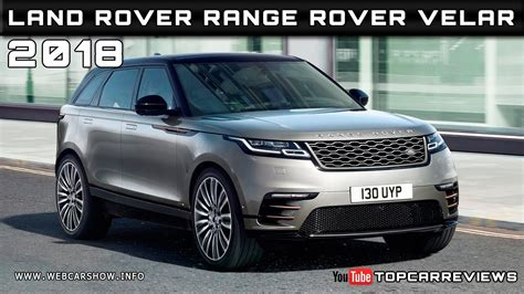 2018 range rover velar price 2018 land rover range rover velar review rendered price