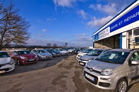 Garage Voiture Exterieur by Exterieur Parking Exposition Voiture Garage De Bourgogne