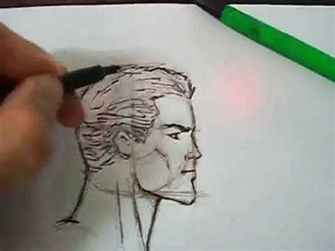 fotos para perfil varones como dibujar el rostro de perfil lapiz y tinta hombre