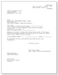 irs audit letter 12c sample 1