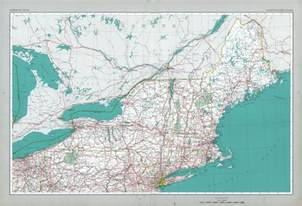 northeastern states map united states size