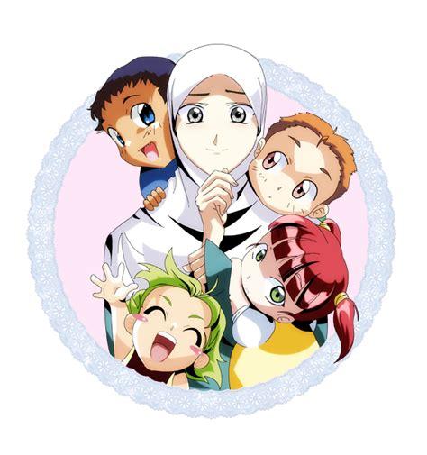 anime keluarga muslim anime my lovelies by bekkouche on deviantart