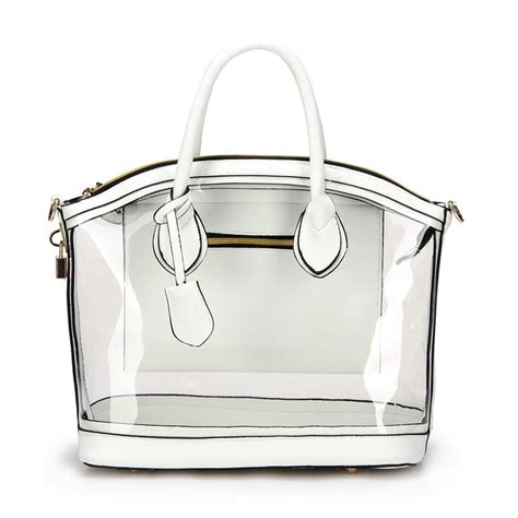 see thru handbags handbag ideas