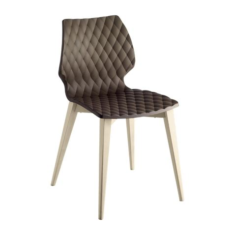 brown patterned chair pagina dark brown patterned side chair from ultimate