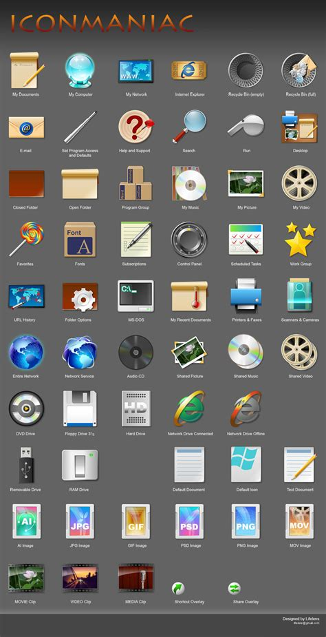 desktop themes and icons iconpackager custom windows icon themes