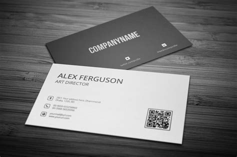 free minimal business card design psd template 30 simple minimal business card templates for 2018