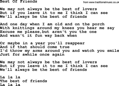 song for a friend best friend song lyrics images