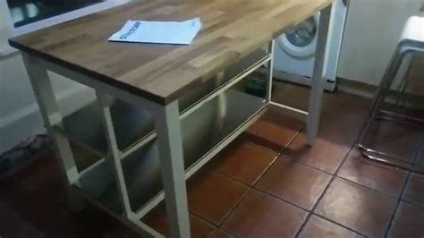 Ikea Hack Kitchen Island by Ikea Stenstorp Kitchen Island Hack Youtube