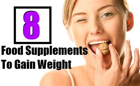 a supplement to gain weight meal supplements for weight gain