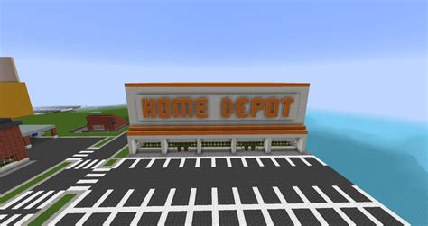 home depot minecraft project
