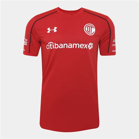 design jersey under armour under armour toluca 17 18 home away third kits released