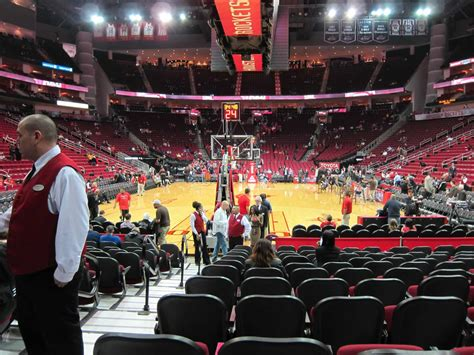 houston rockets toyota center section 126