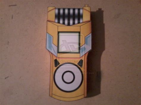 Digivice Papercraft - yuu s fusion loader digivice papercraft by
