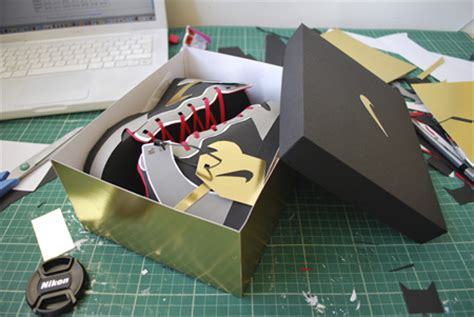 How To Make Shoes Out Of Paper - nike sneakers made from paper
