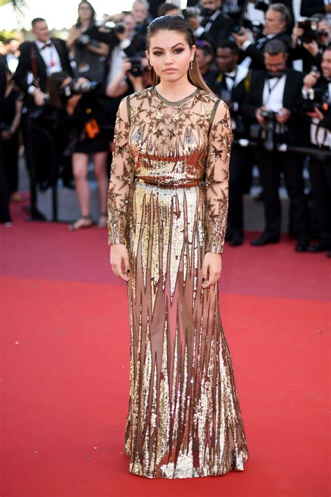 Cannes Festival by Thylane Blondeau Okja Premiere At Cannes Festival