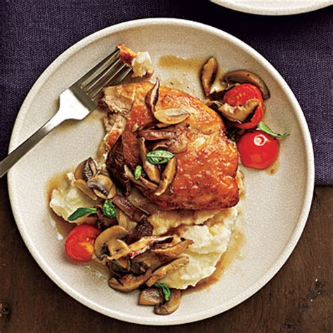Cooking Light Chicken Marsala by Chicken And Mushrooms With Marsala Wine Sauce Recipes
