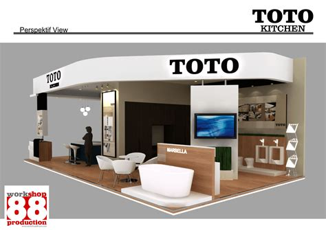 booth design indonesia indonesia surabaya booth contractor for toto info