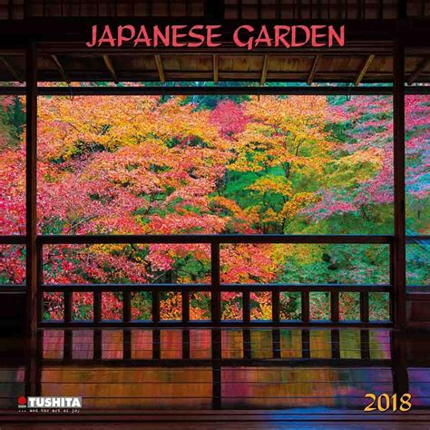 Calendar 2018 Japan Japanese Garden Calendars 2018 On Europosters