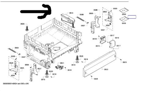 bosch dishwasher schematic diagram bosch dishwasher parts bosch dishwasher parts schematic