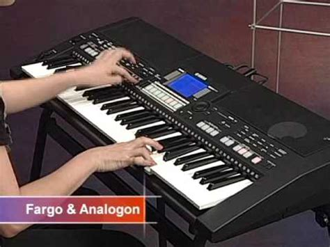 Keyboard Yamaha S550 psr s550 demonstration