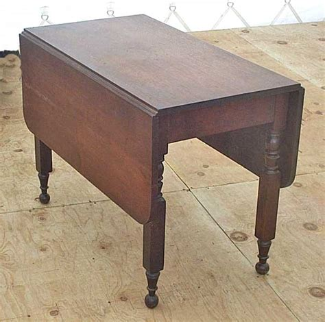 How To Make A Drop Leaf Table Walnut Drop Leaf Table