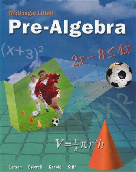 Pre Mba Math Books by Mcdougal Littell Middle School Math Student Edition Pre
