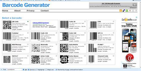 membuat barcode qr dengan excel cara membuat barcode sendiri apung arul