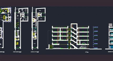 office dwg full project  autocad designs cad