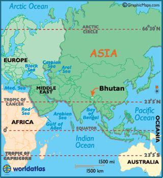 where is bhutan on a world map bhutan map geography of bhutan map of bhutan