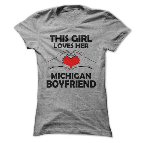 Personalized Boyfriend T Shirts New This Michigan Boyfriend Unique