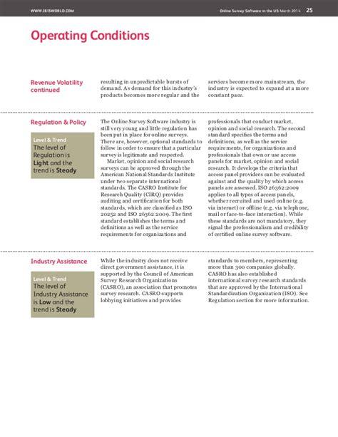 Online Survey Software - od4559 online survey software industry report