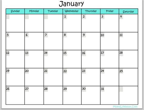 printable month calendar january 2015 printable 2015 calendar all months calendar template 2018