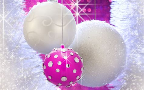 wallpaper christmas pink christmas balls christmas baubles and christmas