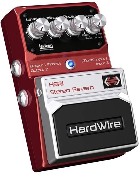 one hardwire digitech hardwire rv 7 stereo reverb effects database