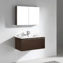 Discount Bathroom Vanities And Sinks Venasca 35 Quot Modern Single Sink Bathroom Vanity By Madeli Discount Bathroom Vanities