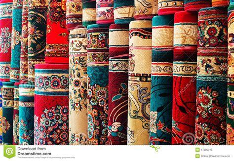 bunte teppiche bunte teppiche stockfotos bild 17300913