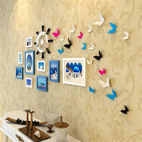 Butterfly Frames Wall Decor Wholesale Get Cheap Butterfly Picture Frames Aliexpress