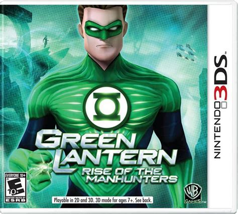 Green Lantern Rise Of The Manhunters Ps3 green lantern rise of the manhunters para 3ds gameplanet