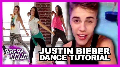 tutorial dance justin bieber justin bieber beauty a beat dance tutorial clevver
