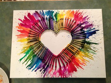 Pattern Project Ideas | crayon art arts and crafts project favorite crafts
