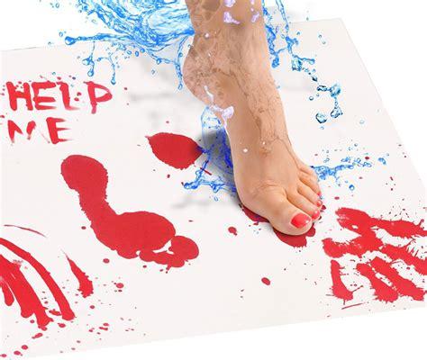 color changing bath mat color changing bloody bath mat
