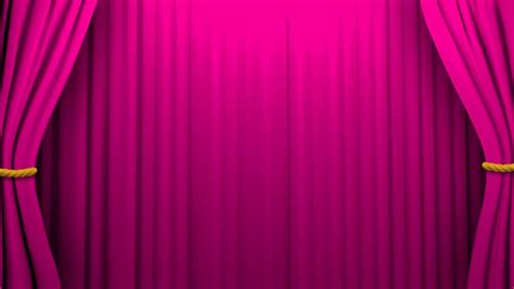 purple stage curtains animated zooming purple small hearts curtain green screen