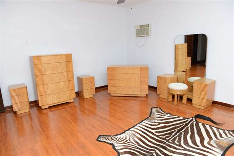 an expansive american art deco bedroom set at 1stdibs american art deco 8 pc bedroom set saturday sale at 1stdibs