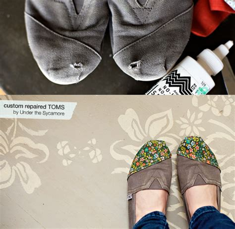 diy shoe repair diy toms repair pinpoint