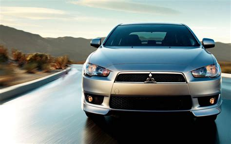 mitsubishi lancer sports car wallpapers  technical car