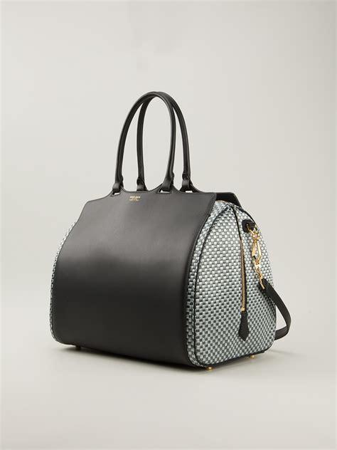 Bag Giorgio Armani 818 2 giorgio armani bowling bag in black lyst